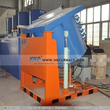 Hot sales small crucible furnace for melting copper