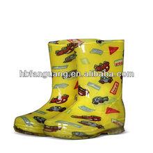 Fashion Design Lovely Children Pvc Rain Boot