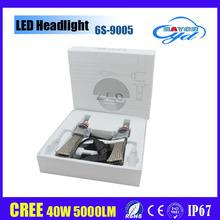 New headlight 6g led luces moto 80w 10000lm h4 h7 h11 9005 9006 6s led