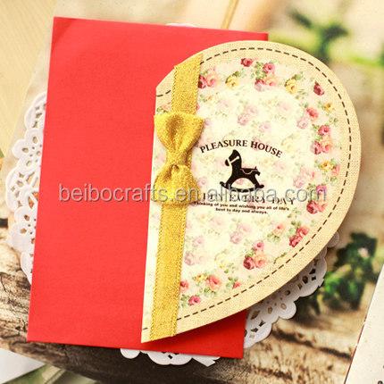Handmade Cards Hearts Custom Heart Shape Handmade