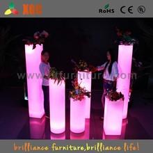 floor decorative flower vases/flower vase column/tall plastic flower vases
