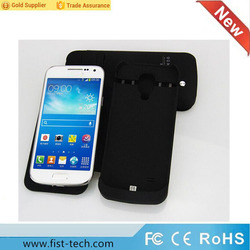 2800mAh portable external battery case charger case for Samsung Galaxy s4mini