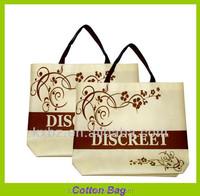 guangzhou factory direct light brown custom cotton canvas tote bag
