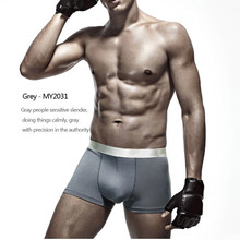 2014 New 100% Bamboo Men Boxer Shorts Wholesale Bamboo Products