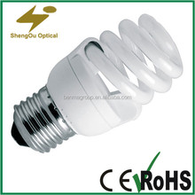 energy saving T2 E27 base 25W lamp tubes competitive price no flicking