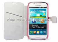 For Samsung Galaxy Core I8260 I8262 Leather PU Fancy Case cover China Wholesale