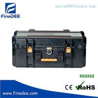 503322 Hard plastic duty heavy case with foam