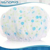 Latest Promotional BEST SALE PEVA novelty customized shower cap