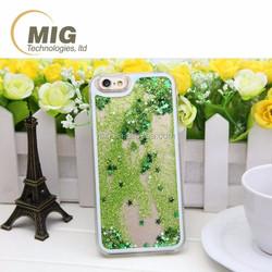 For iphone 5c Liquid flow PC hard phone case For apple iphone 5c case