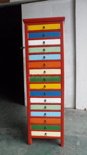 ming style living wood furniture file cabinet with drawers