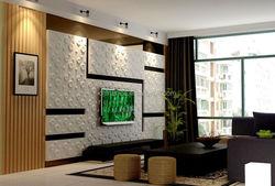 wave, brick, stone pattern 3d wallpaper
