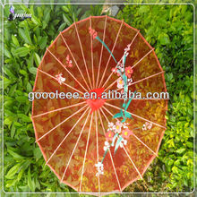 red silk umbrella perfect marriage gift