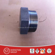 NPT plug 3000# with A105/ss304/ss316