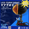 Great brightness pure accesories motorcycles turn light white led flood light scooter light parts & accessories
