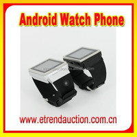 1.54 Inch MTK 6577 Dual Core 3G WCDMA Bluetooth Watch Phone Android WIFI 3G