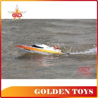 Teenagers radio remote control high speed electric plastic fishing boats rc speed boats for sale