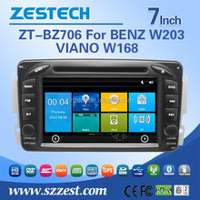 car dvd gps for mercedes benz W203 car audio system rearview mirror