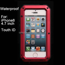 Waterproof Phone Case for Iphone 6 4.7inch Touch ID