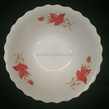 white ceramic chinese soup bowls