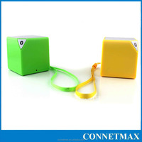 3W Mini Bluetooth Speaker Small Square Wireless Speaker Square Portable cube shape Speaker
