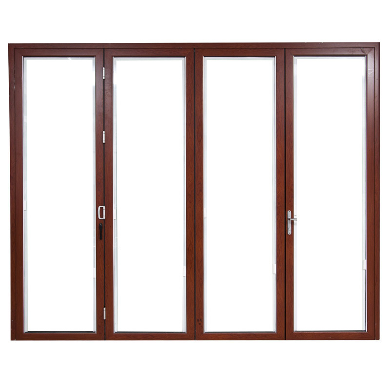 Classical design aluminum folding patio door prices view for Aluminum sliding glass doors price