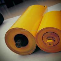 steel roller mining roller, steel gravity guide idler roller