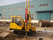 Screw foundations Rotary Driver Solar Pile Driver