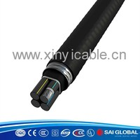 0.6 - 1KV underground sheathed 25mm2 stranded cable