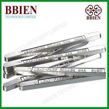 China soldering factory directry supplies hot sale tin lead solder bar Sn30Pb70 used for kinds of pcb welding