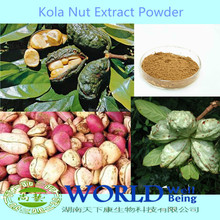 GMP Factory Colanut Seed Extract Powder/Kola Nut Extract Powder Free Sample Colanut Seed Extract