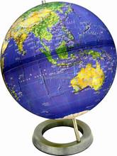 32cm Light World Globe with metal base(Satellite Edition)