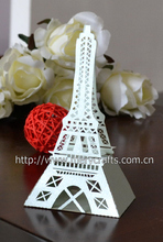 """2015 new products! laser cut """"eiffel tower"""" gift box for guests wedding decorations from Mery Crafts"""