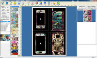Daqin mobile phone repair software for any mobile phone sticker cutting