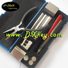 High quality Lock disassembly tool locksmith tools (12 pcs) auto lock picks lockey locks
