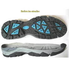 Hiking shoes outsole in stocks urgent sales outdoor famous brand climbing shoes soles stocks