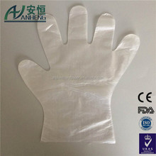 Medical and health use disposable poly gloves