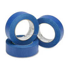 "High Quality Low Noise Nature Rubber UV Resistant 2"" x 60y Blue Painters Masking Tape"