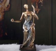 Custom abstract carácter sexy lady escultura escultura