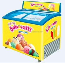 dislay freezer for ice cream