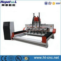 High quality Hot sale cylinder wood cnc router for wooden furniture