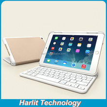 Folio Ultra Thin Magnetic Bluetooth Keyboard Case for iPad Air Bluetooth Keyboard Leather Case Dual Stand
