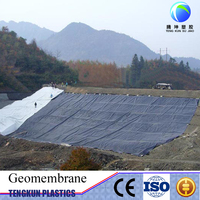 waterproof geomembrane pond liner HDPE roofing