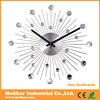 Home decorative metal wall clock with acrylic balls