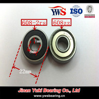 High Speed Deep Groove Ball Bearing 608 motorcycle bearing