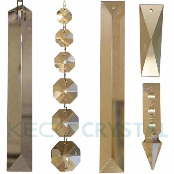 Brass bow tie hooks for crystal chandelier parts and octagon crystal glass prismg mozeypictures Images