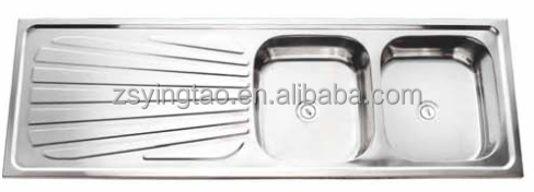 Blanco Double Sink With Drainboard : Double Bowl Stainless Steel Sink with Drainboard. Blanco Sinks,Glass ...