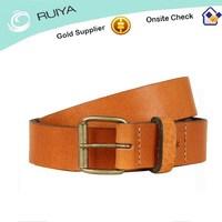 Custom printed leather Essential belts Plain Belt Mens