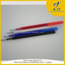 auto vanish pen erasable ball point pen high temperature erasable pen refill