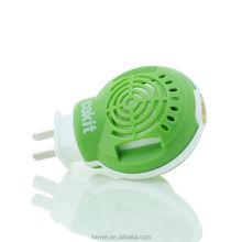 Electric mosquito liquid vaporizer with refills
