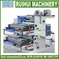 PP woven fabirc wide web flexo printing machine for plastic film